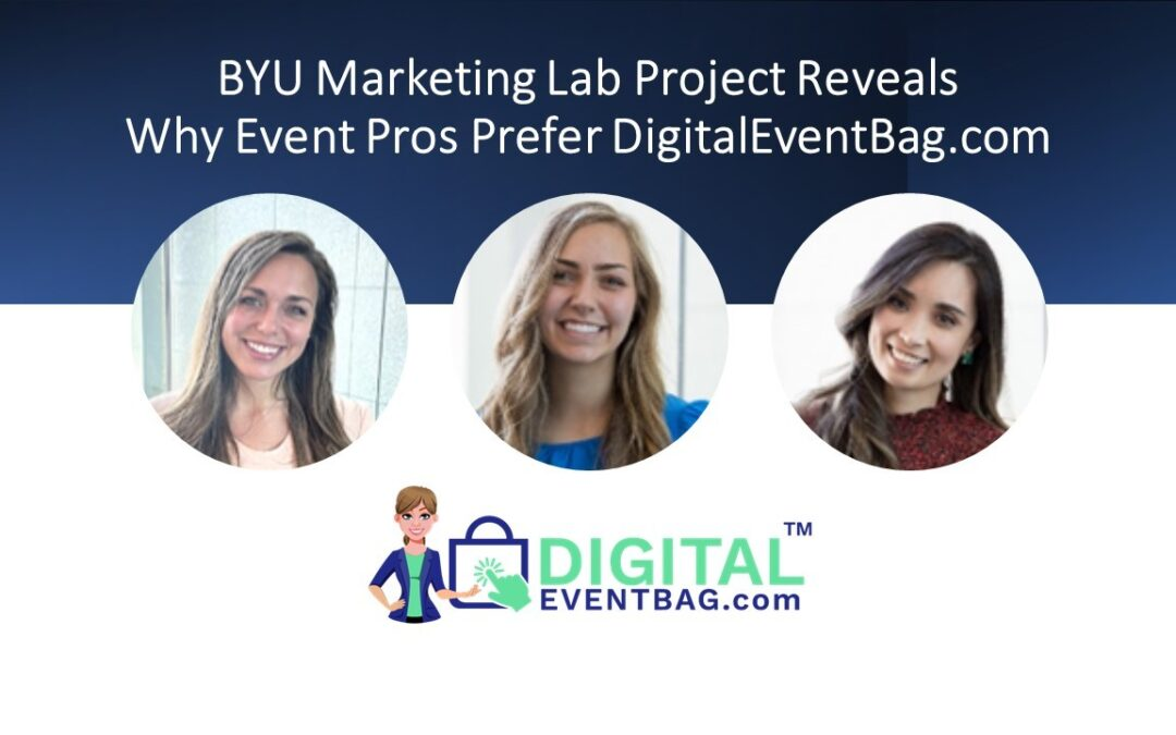 BYU Marketing Lab Students Discover Why Event Pros Love Digital Event Bag